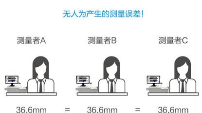 閃測儀應用案例:3C小五金尺寸測量