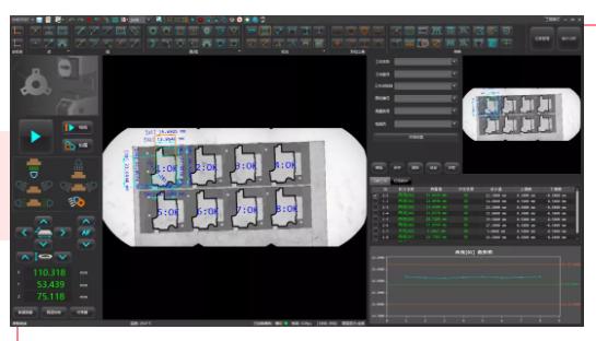 VX3000系列闪测仪在模切行业的应用